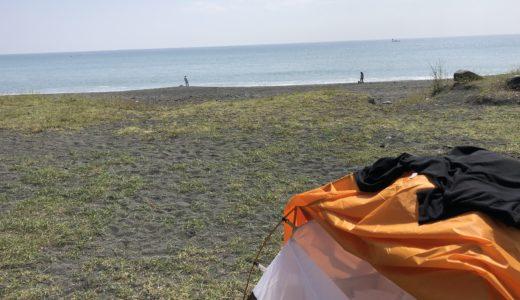 [レビュー]モンベルのクロノスドーム1型テントで旅をした話。使い心地は?