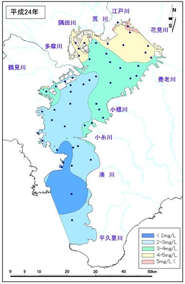 東京湾水質データ
